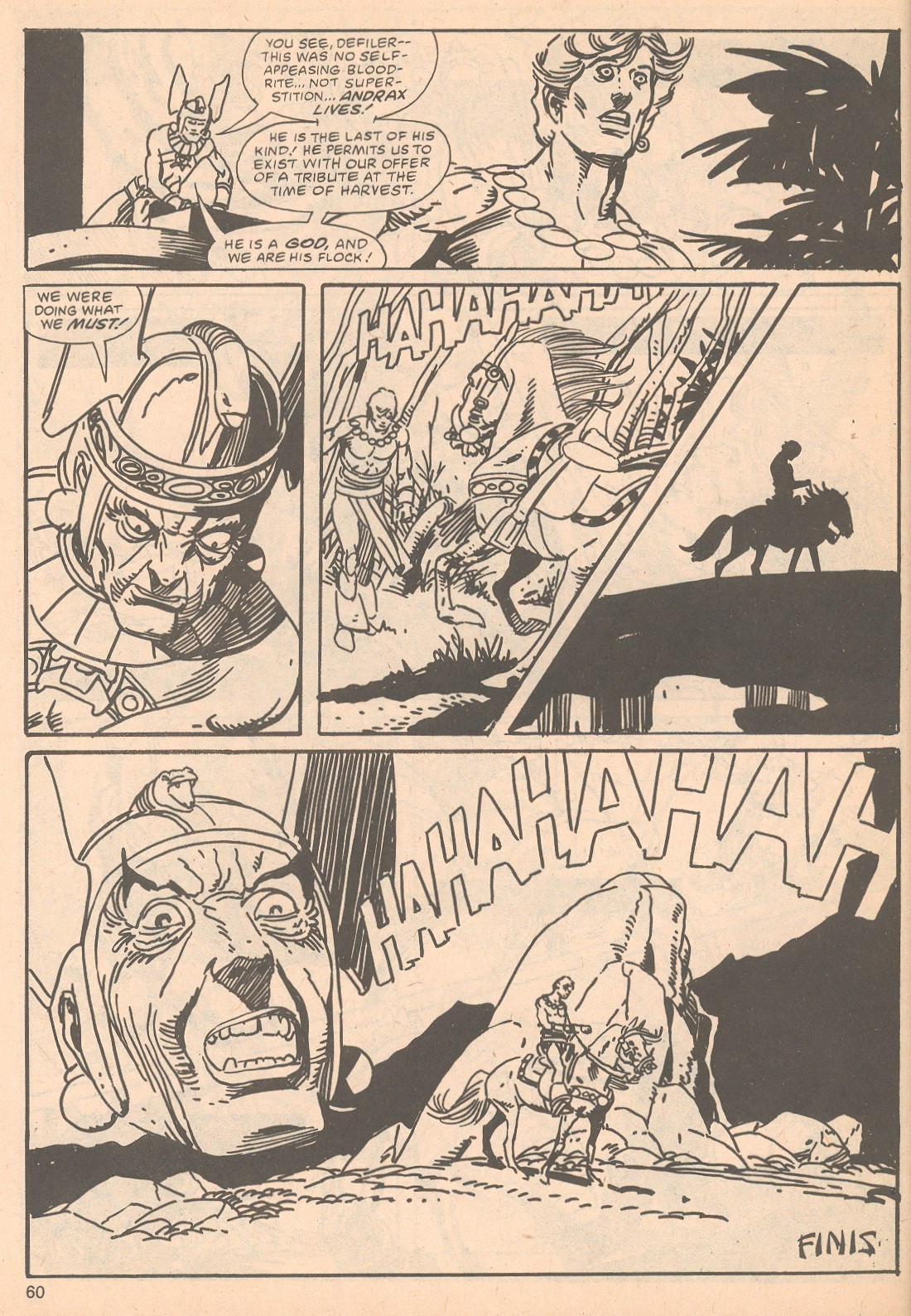 The Savage Sword Of Conan Issue #63 #64 - English 60