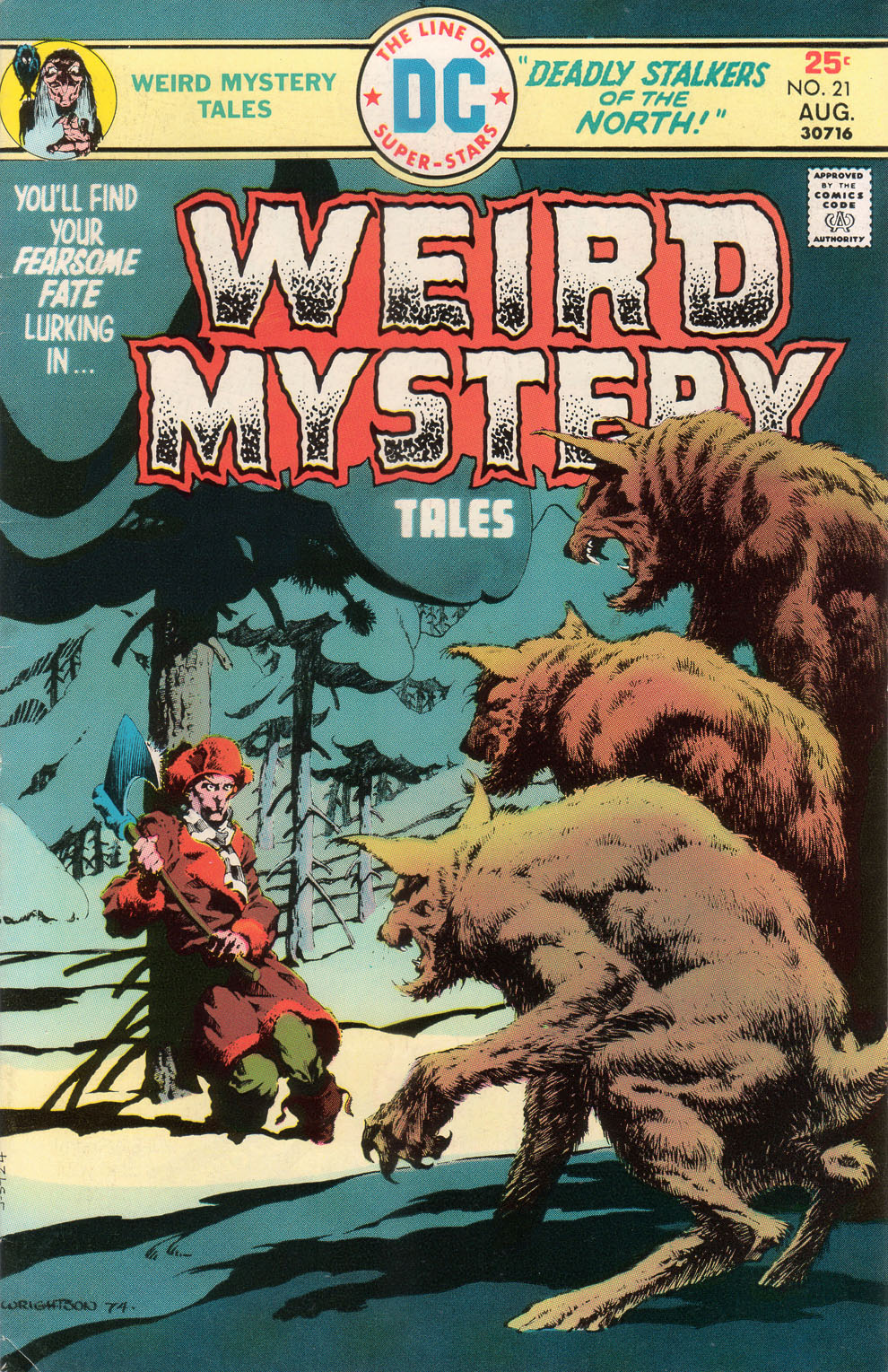 Weird Mystery Tales 21 Page 1