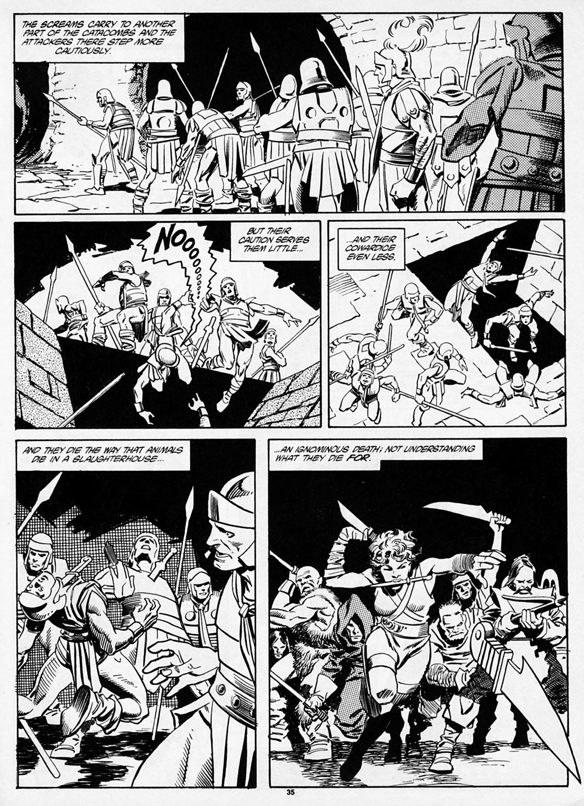 The Savage Sword Of Conan Issue #186 #187 - English 37