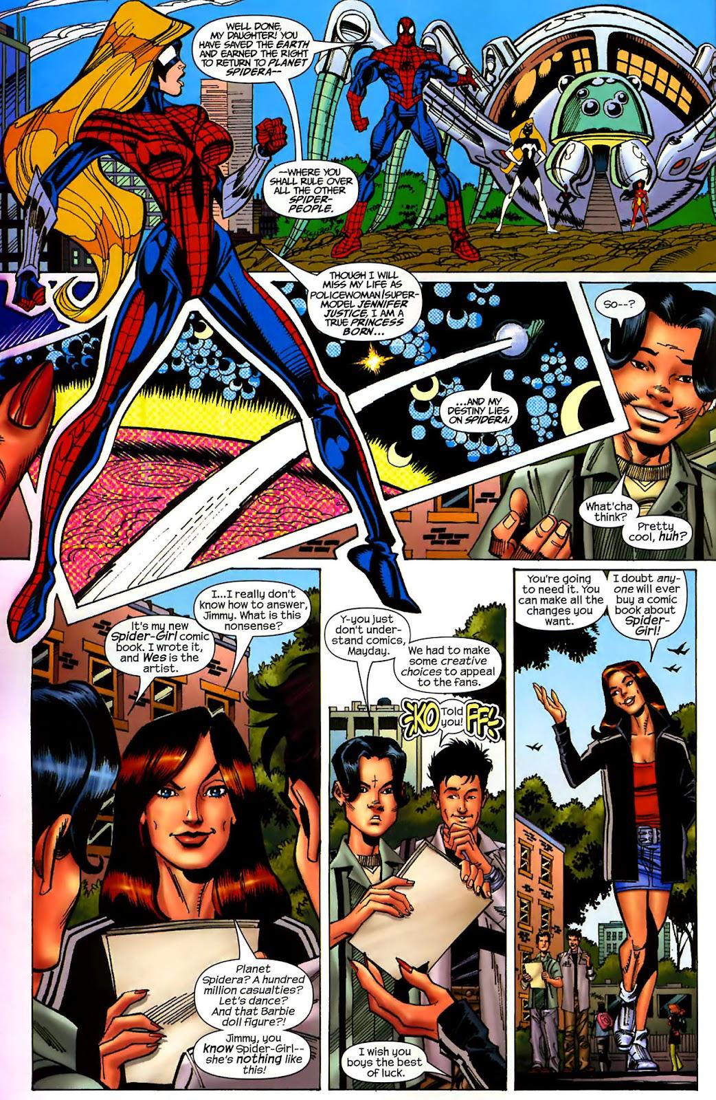 Amazing Spider-Girl Issue #1 #2 - English 5