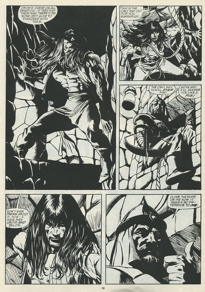 The Savage Sword Of Conan Issue #185 #186 - English 20