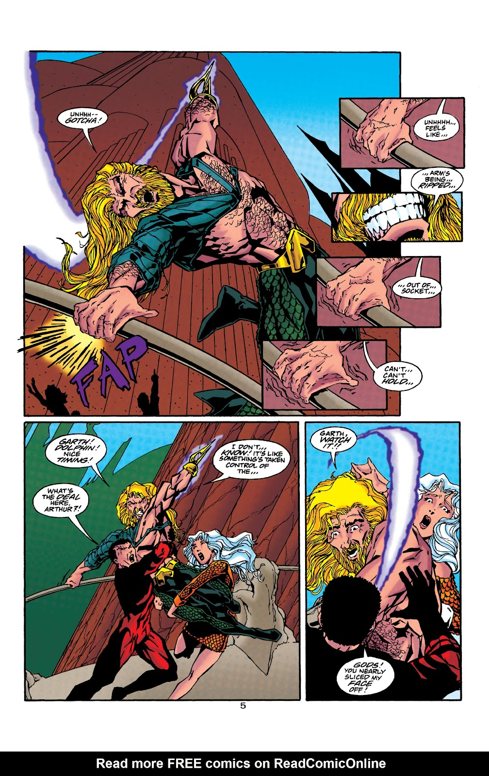 Aquaman (1994) Issue #40 #46 - English 6