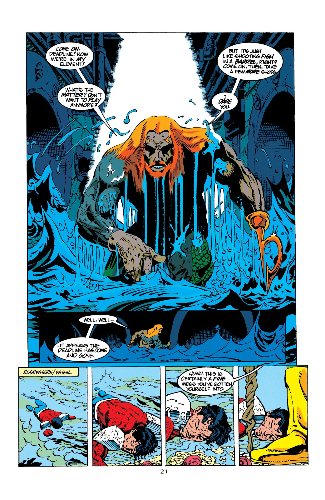 Aquaman (1994) Issue #9 #15 - English 21