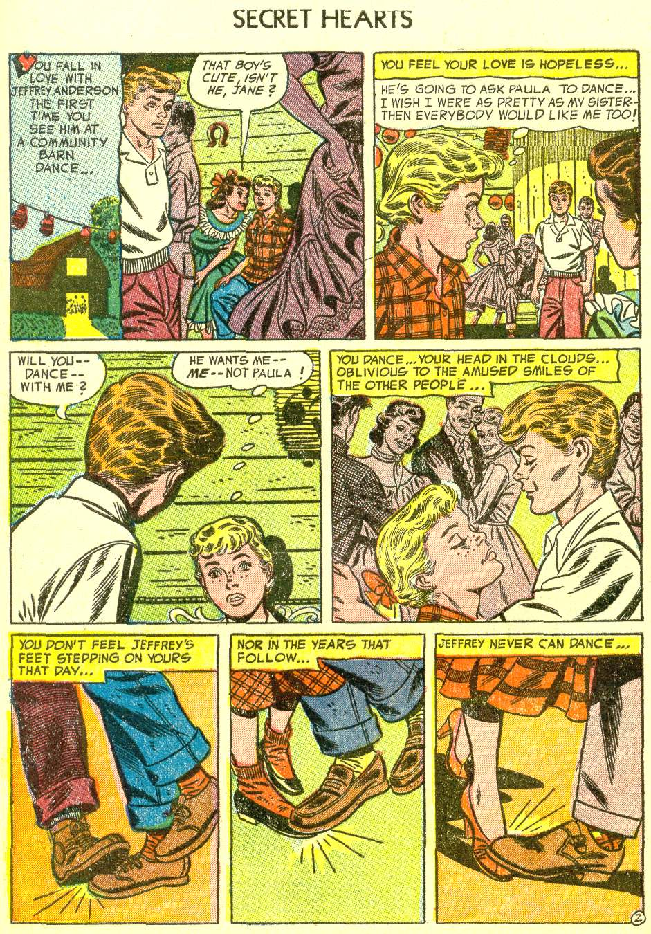 Read online Secret Hearts comic -  Issue #21 - 28