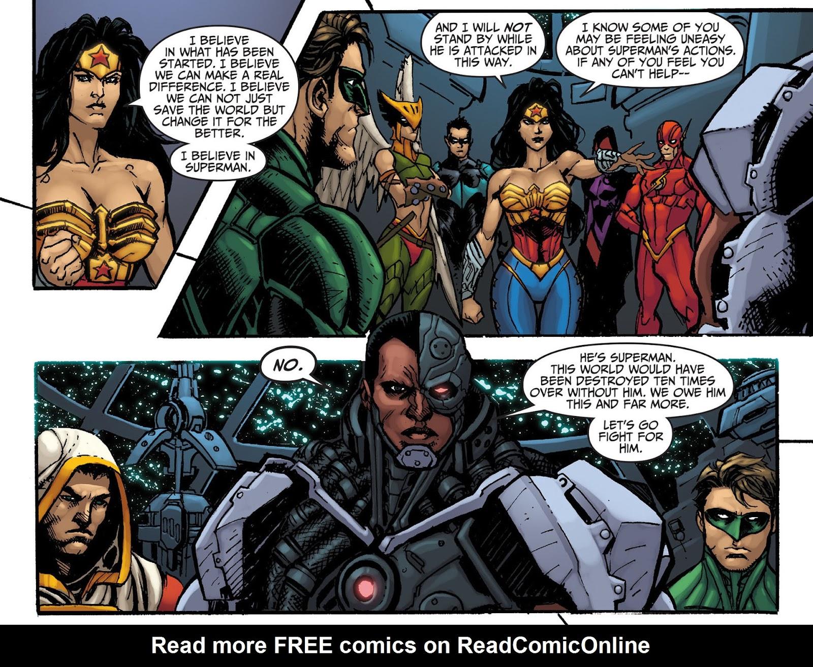 Injustice: Gods Among Us [I] Issue #8 #9 - English 5