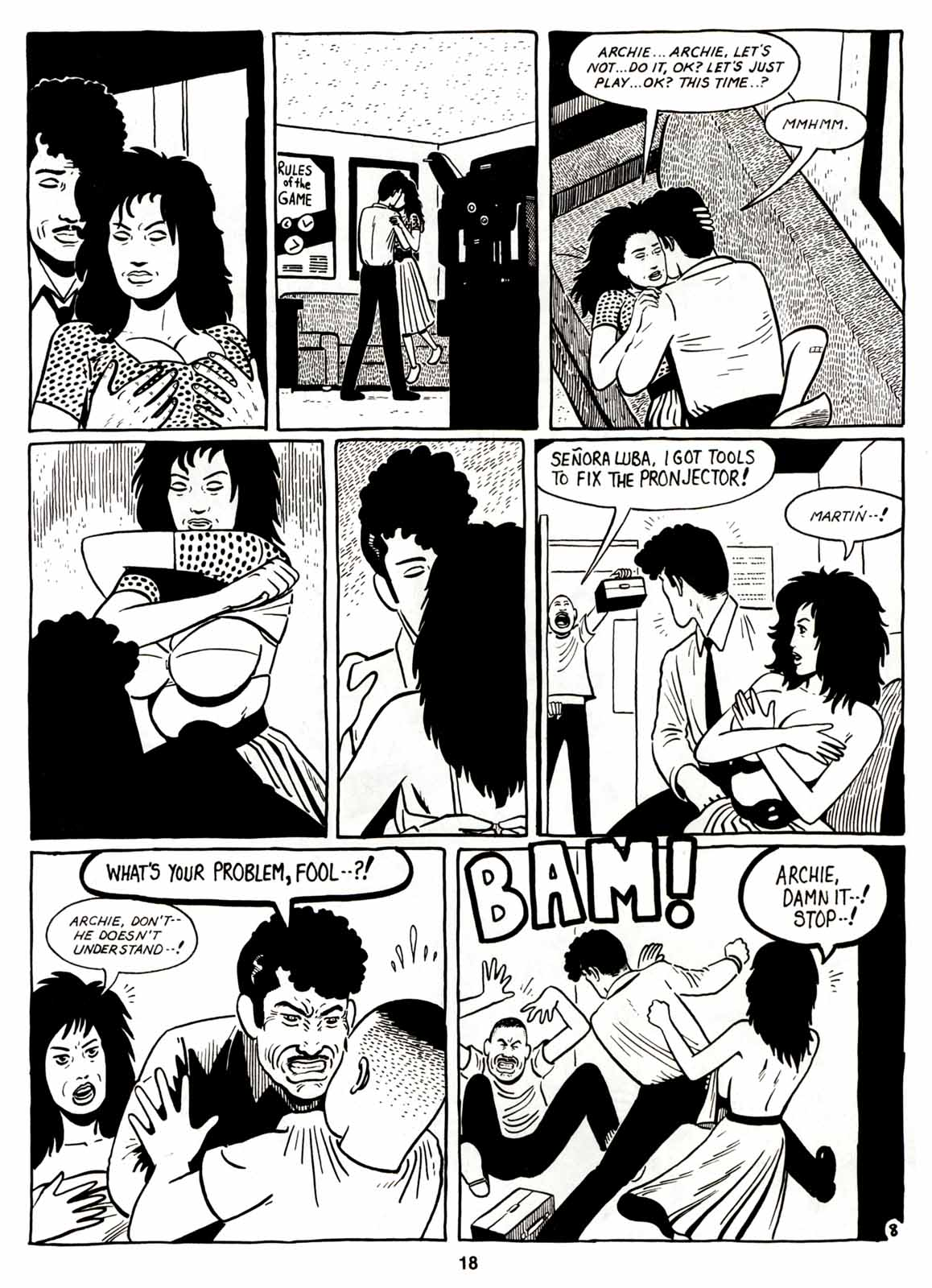 Love and Rockets (1982) Issue #7 #6 - English 20