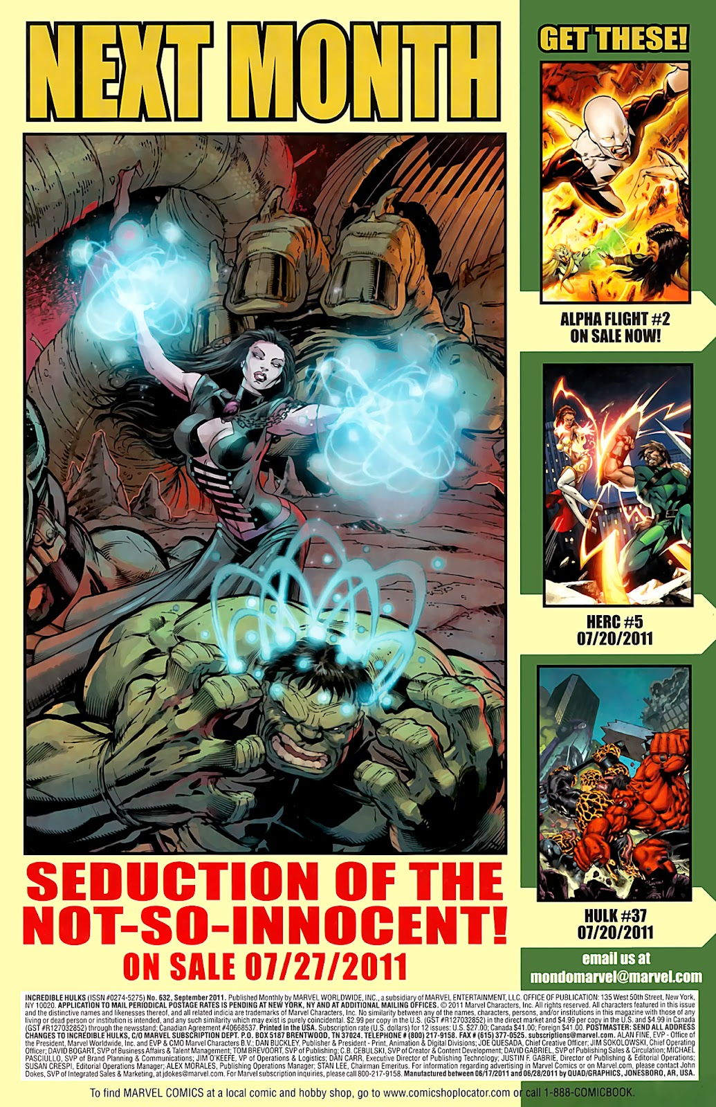 Incredible Hulks (2010) Issue #632 #22 - English 24