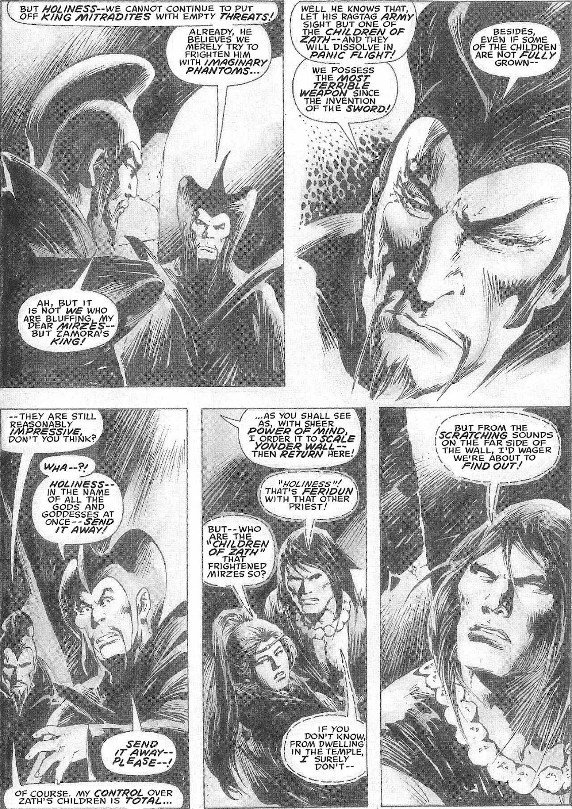 The Savage Sword Of Conan Issue #209 #210 - English 36