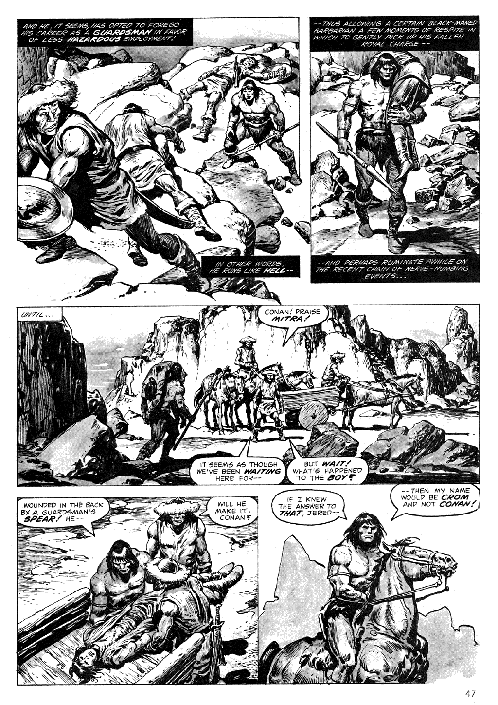 The Savage Sword Of Conan Issue #71 #72 - English 47