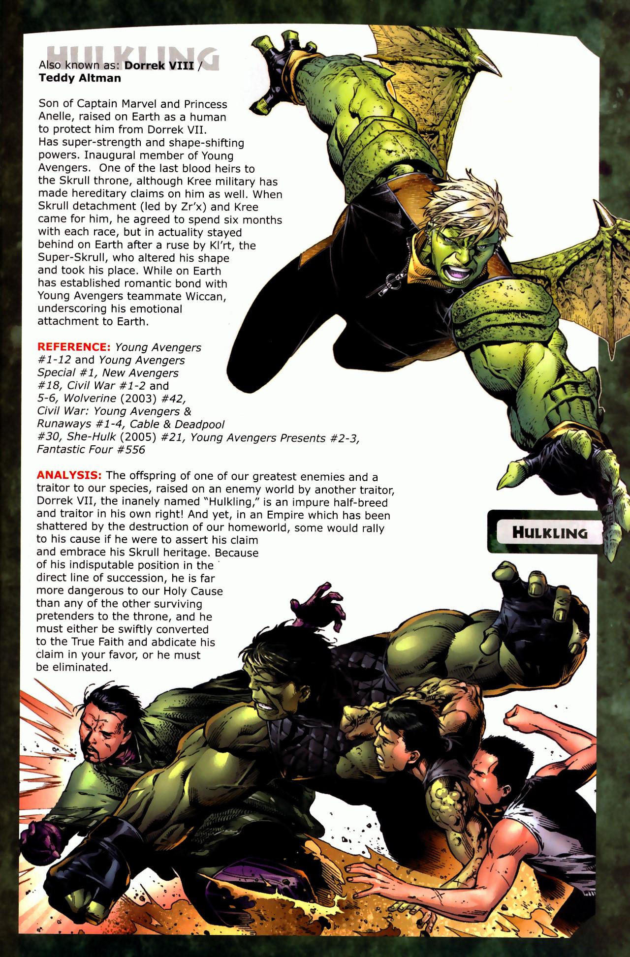 Read online Skrulls! comic -  Issue # Full - 19