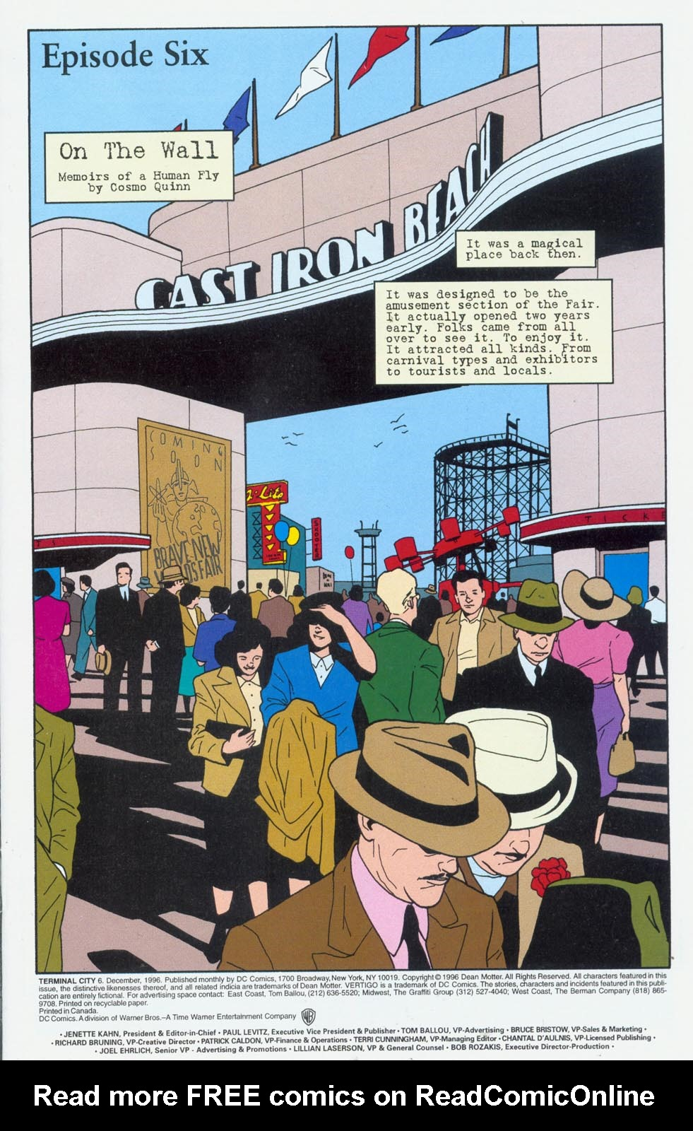 Read online Terminal City comic -  Issue #6 - 2
