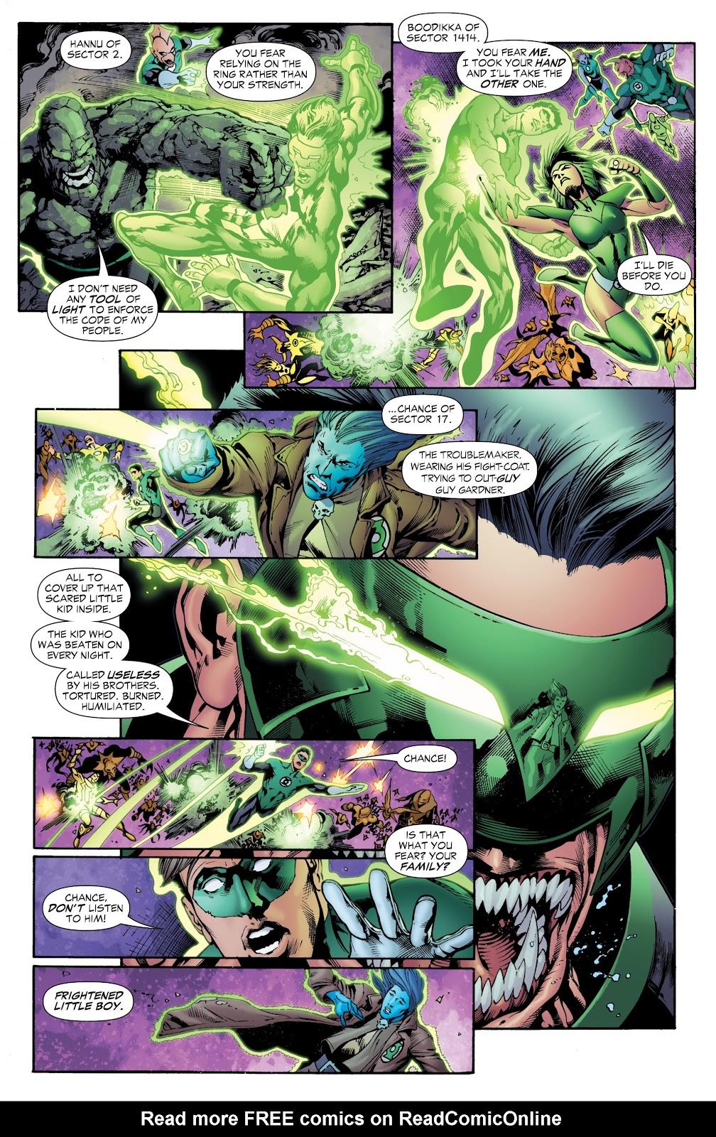 Green Lantern: The Sinestro Corps War Full #1 - English 105