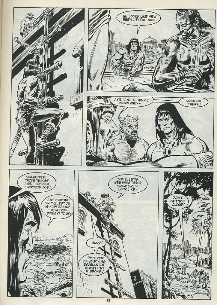 The Savage Sword Of Conan Issue #182 #183 - English 17