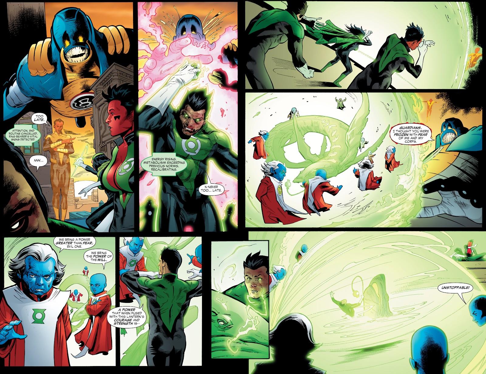 Green Lantern: The Sinestro Corps War Full #1 - English 218