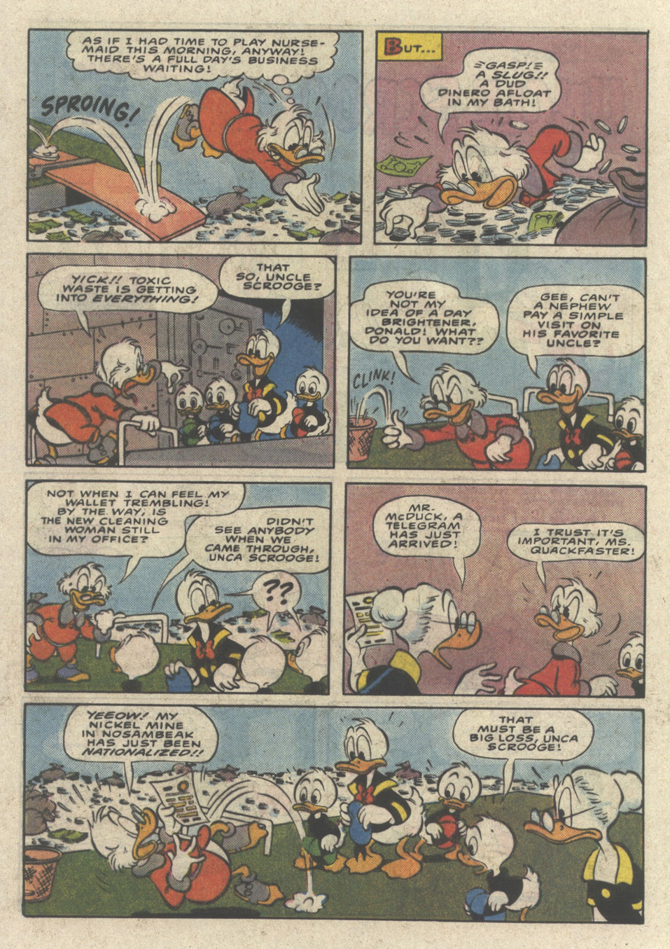 Uncle Scrooge (1953) Issue #232 #232 - English 16