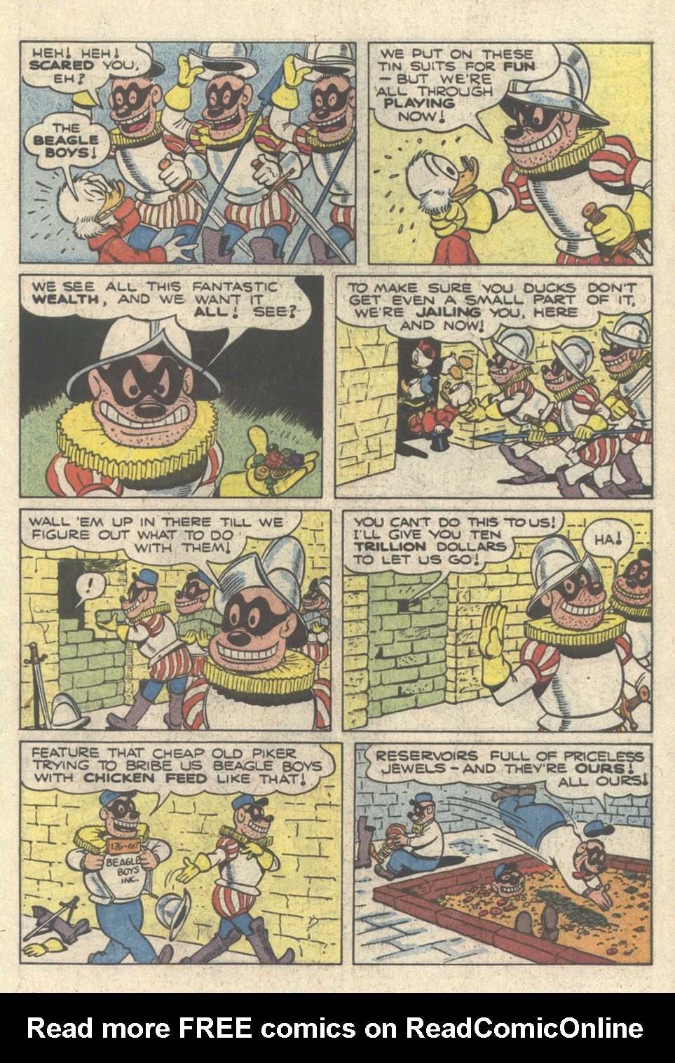 Uncle Scrooge (1953) Issue #217 #217 - English 31