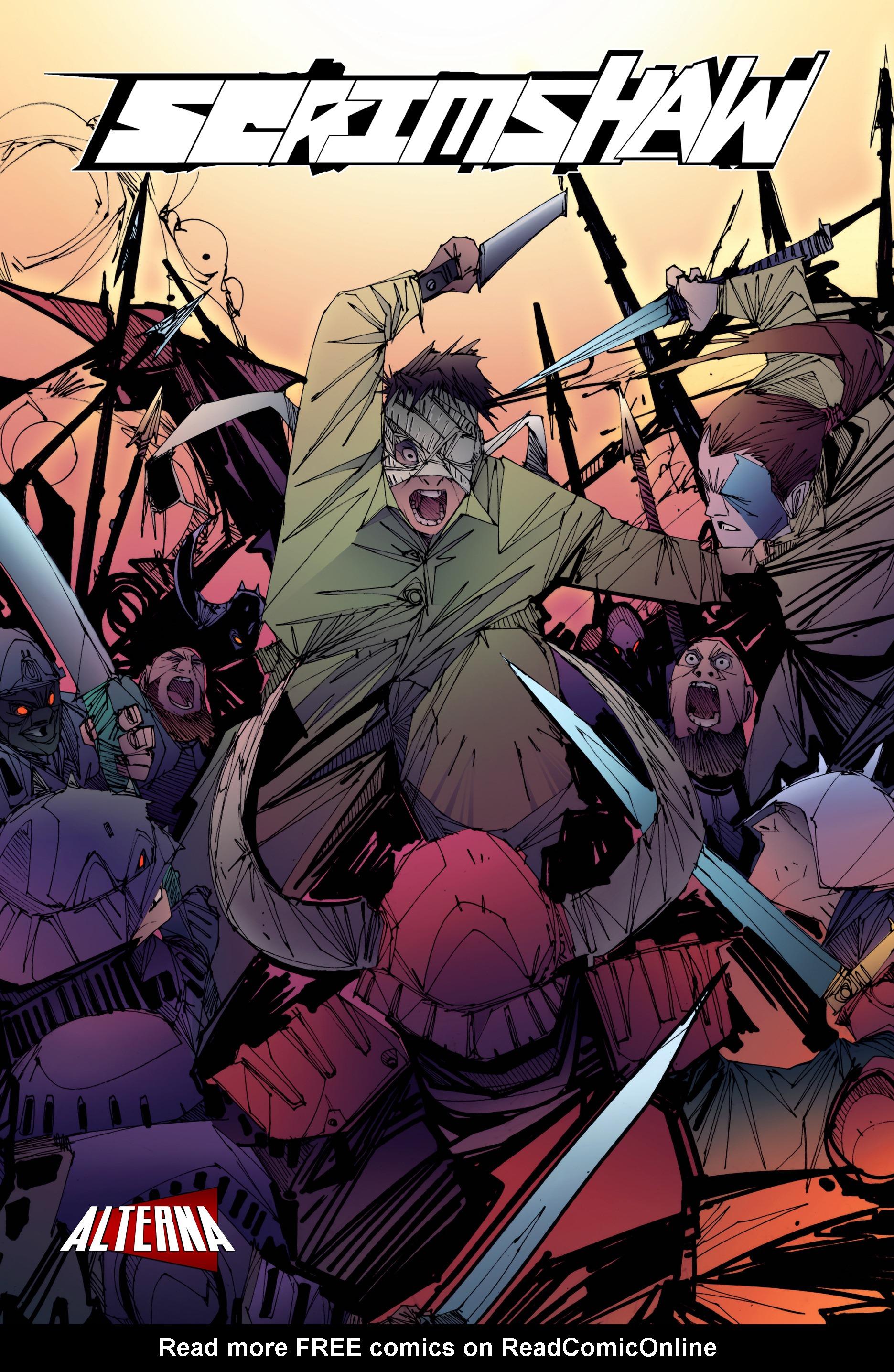 Read online Scrimshaw comic -  Issue #2 - 1
