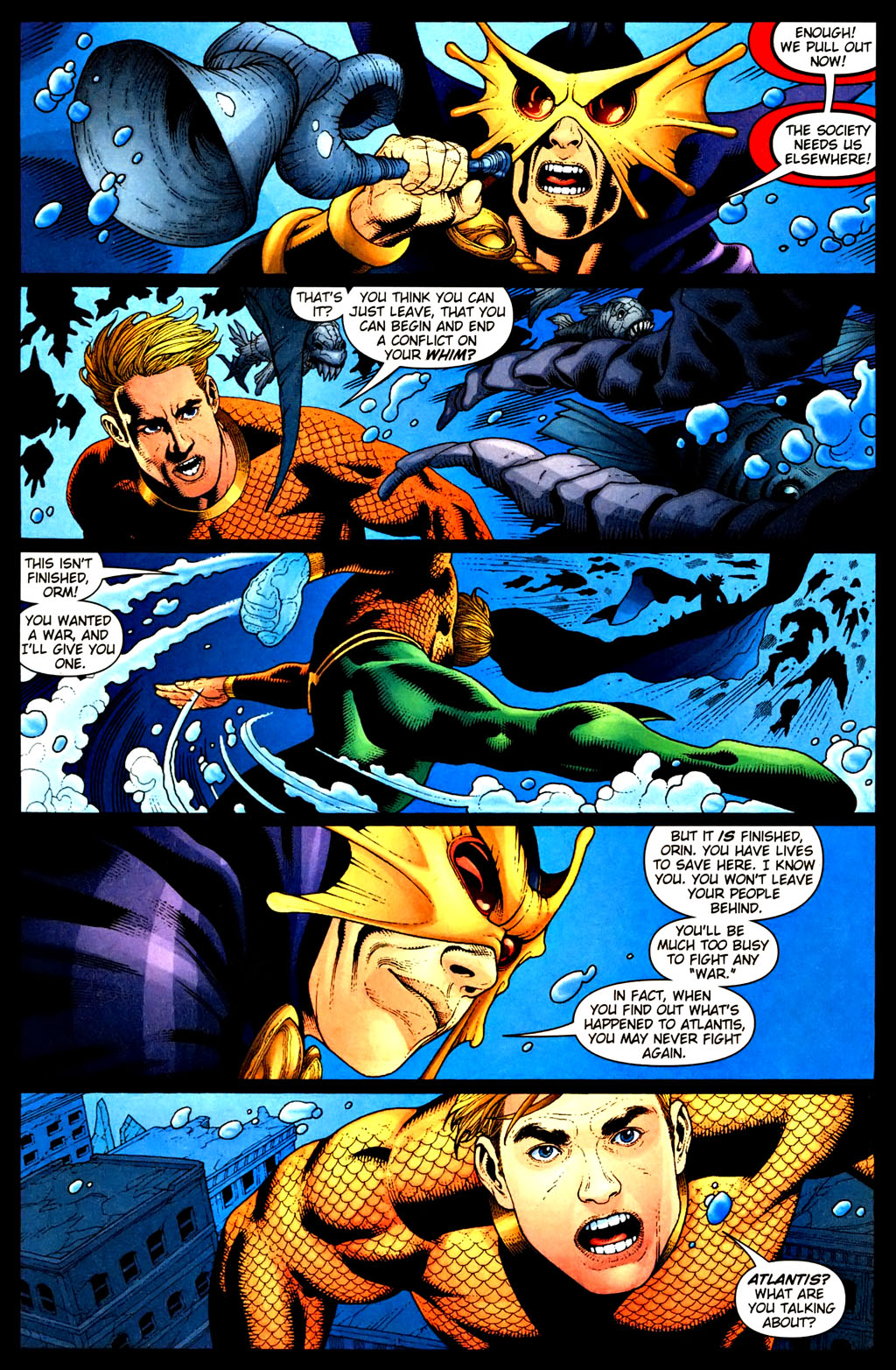 Aquaman (2003) Issue #37 #37 - English 21