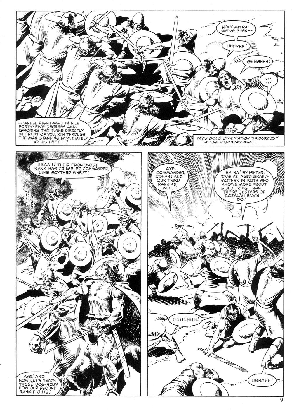 The Savage Sword Of Conan Issue #91 #92 - English 8