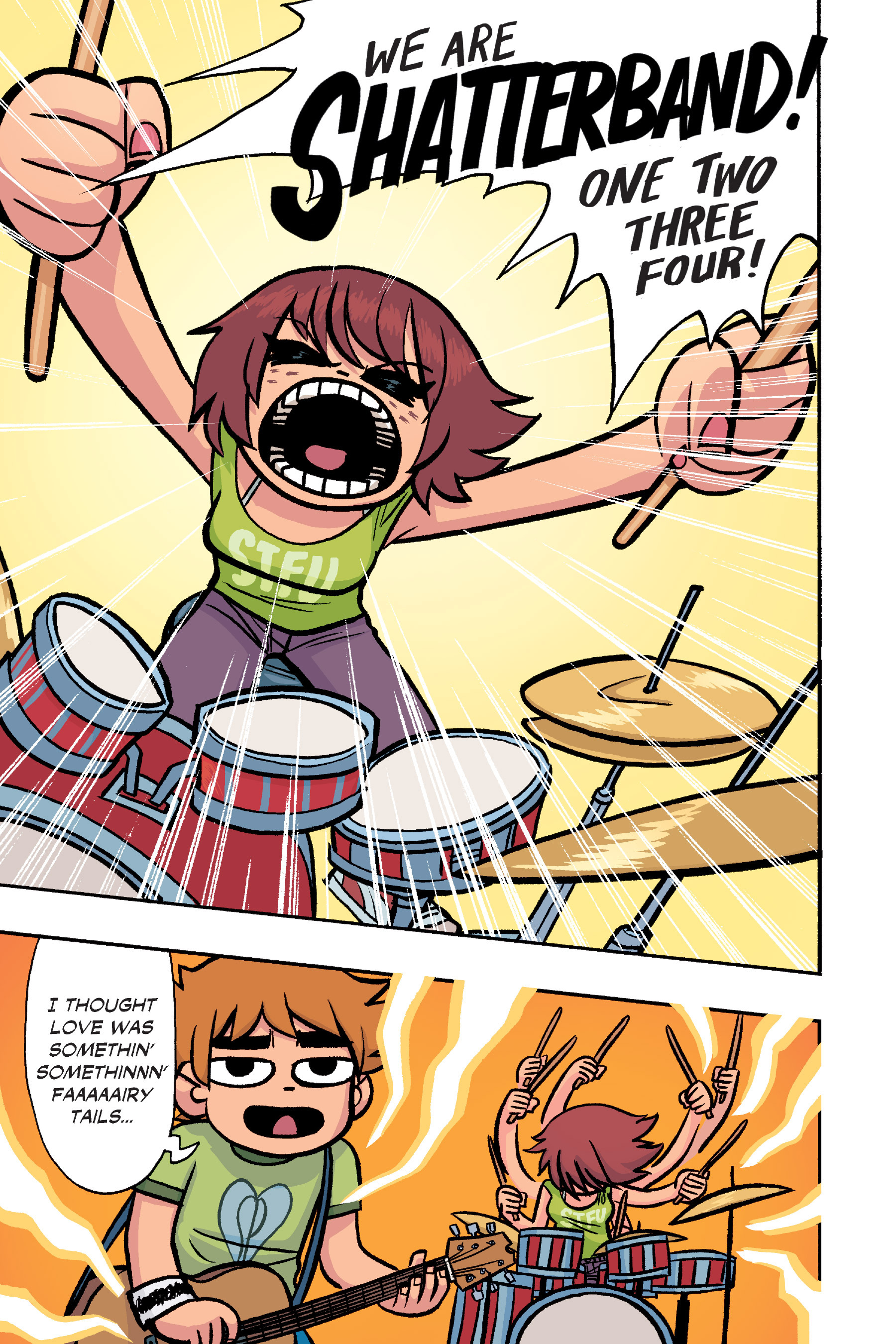 Read online Scott Pilgrim comic -  Issue #6 - 232