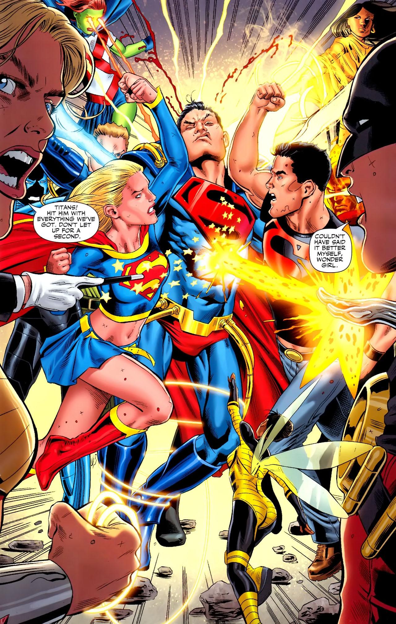 Teen Titans (2003) #100 #110 - English 22