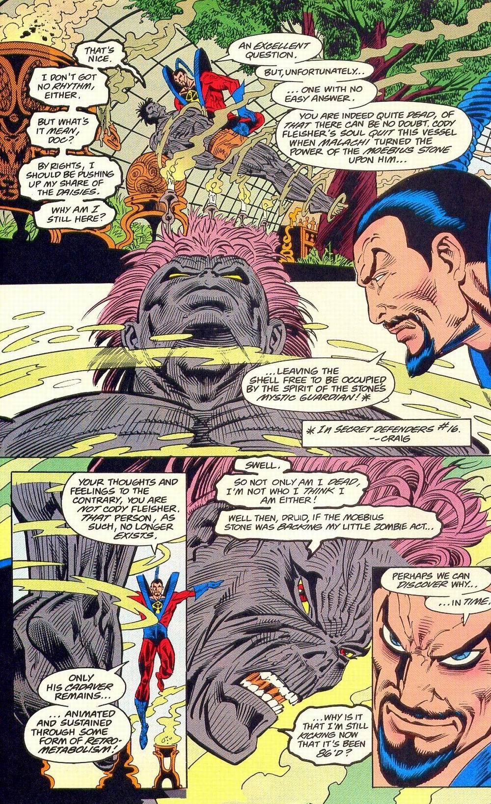 Read online Secret Defenders comic -  Issue #18 - 18