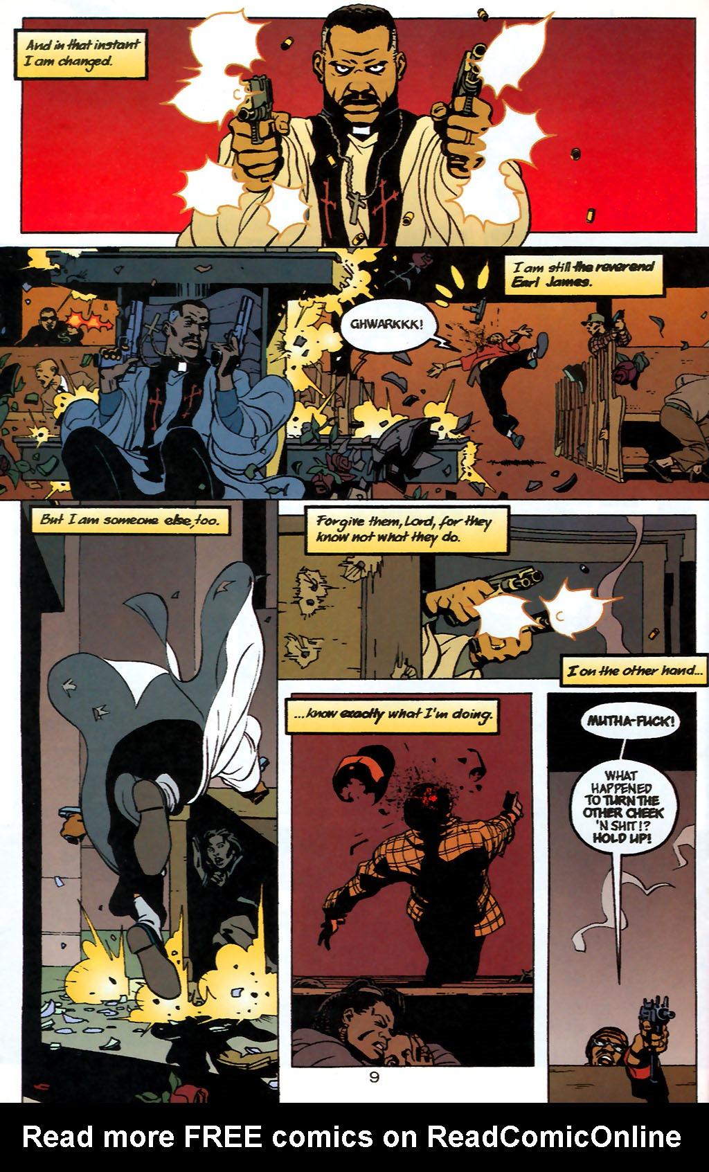 Human Target (1999) 1 Page 9
