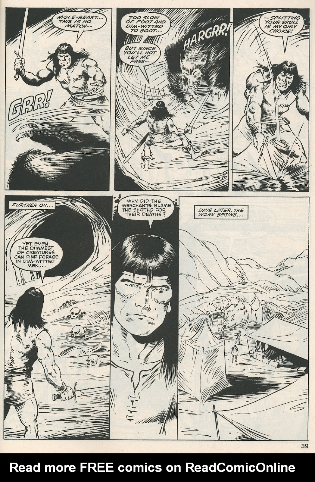 The Savage Sword Of Conan Issue #115 #116 - English 39
