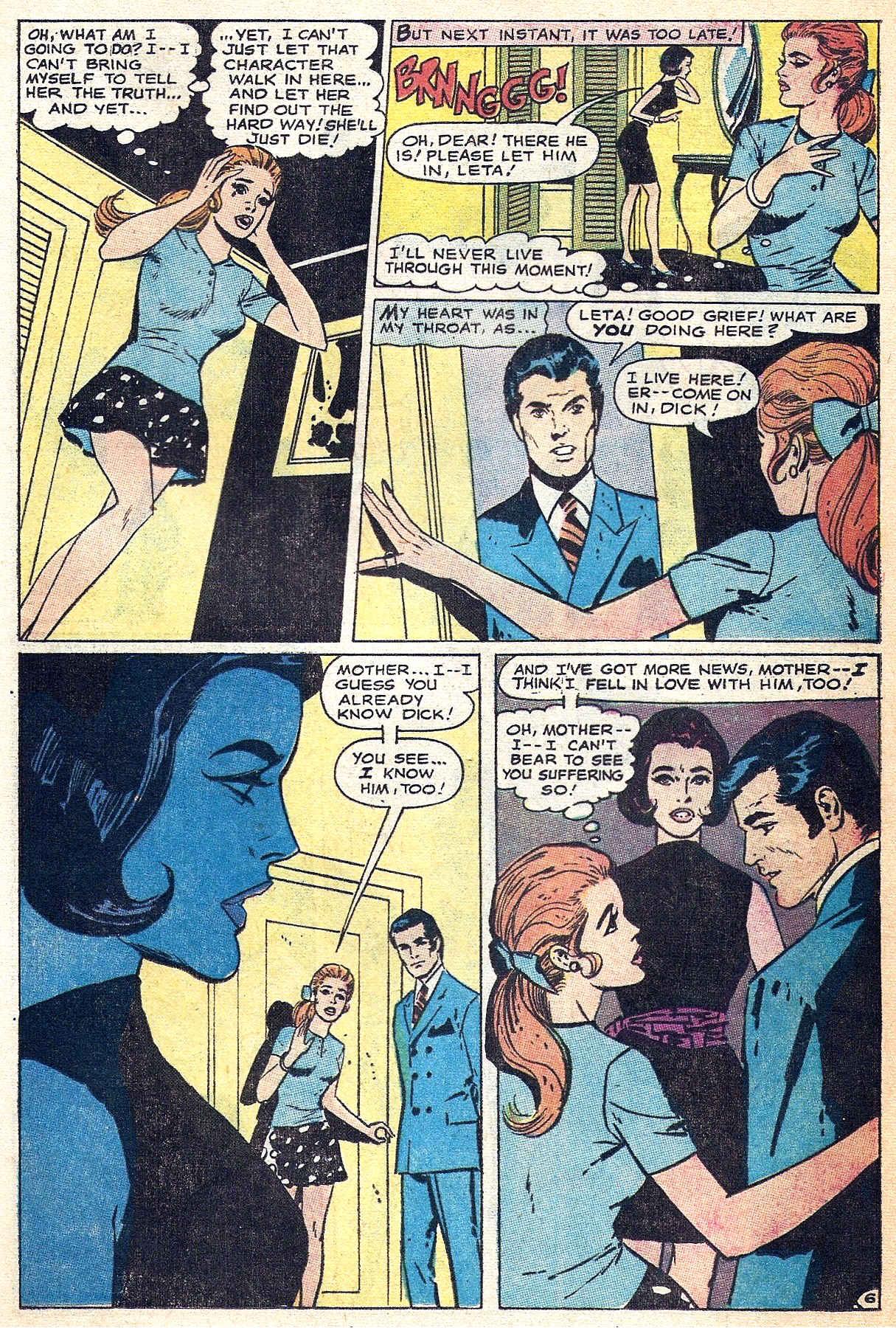 Read online Secret Hearts comic -  Issue #140 - 21
