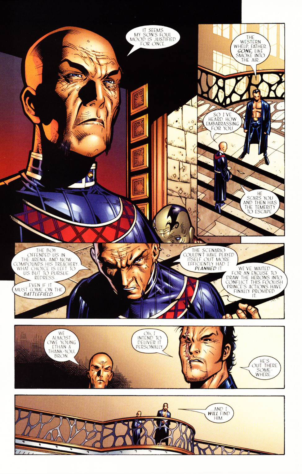 Read online Scion comic -  Issue #3 - 7