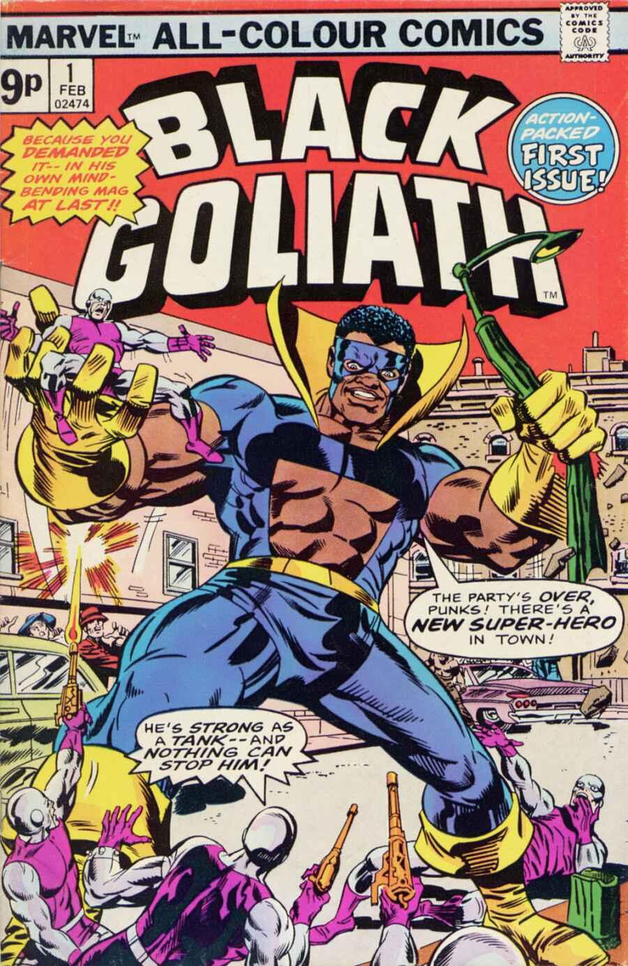 Black Goliath 1 Page 1