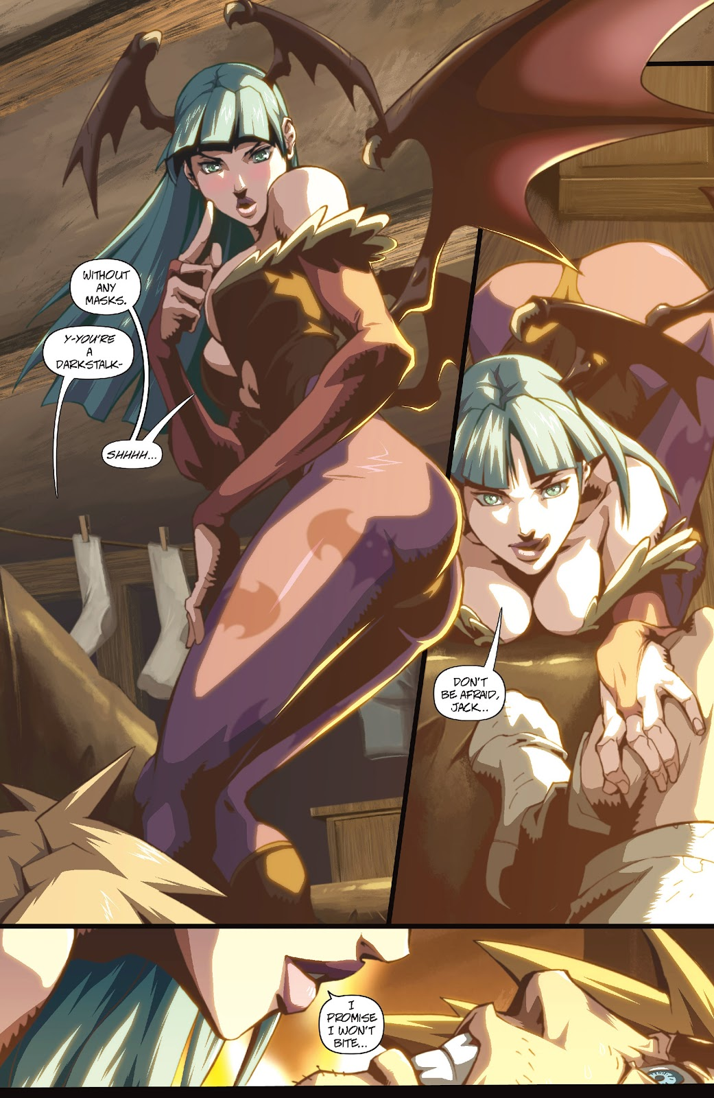 Darkstalkers Issue #1 #2 - English 19