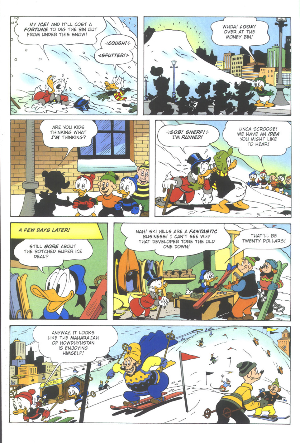 Uncle Scrooge (1953) Issue #351 #351 - English 66