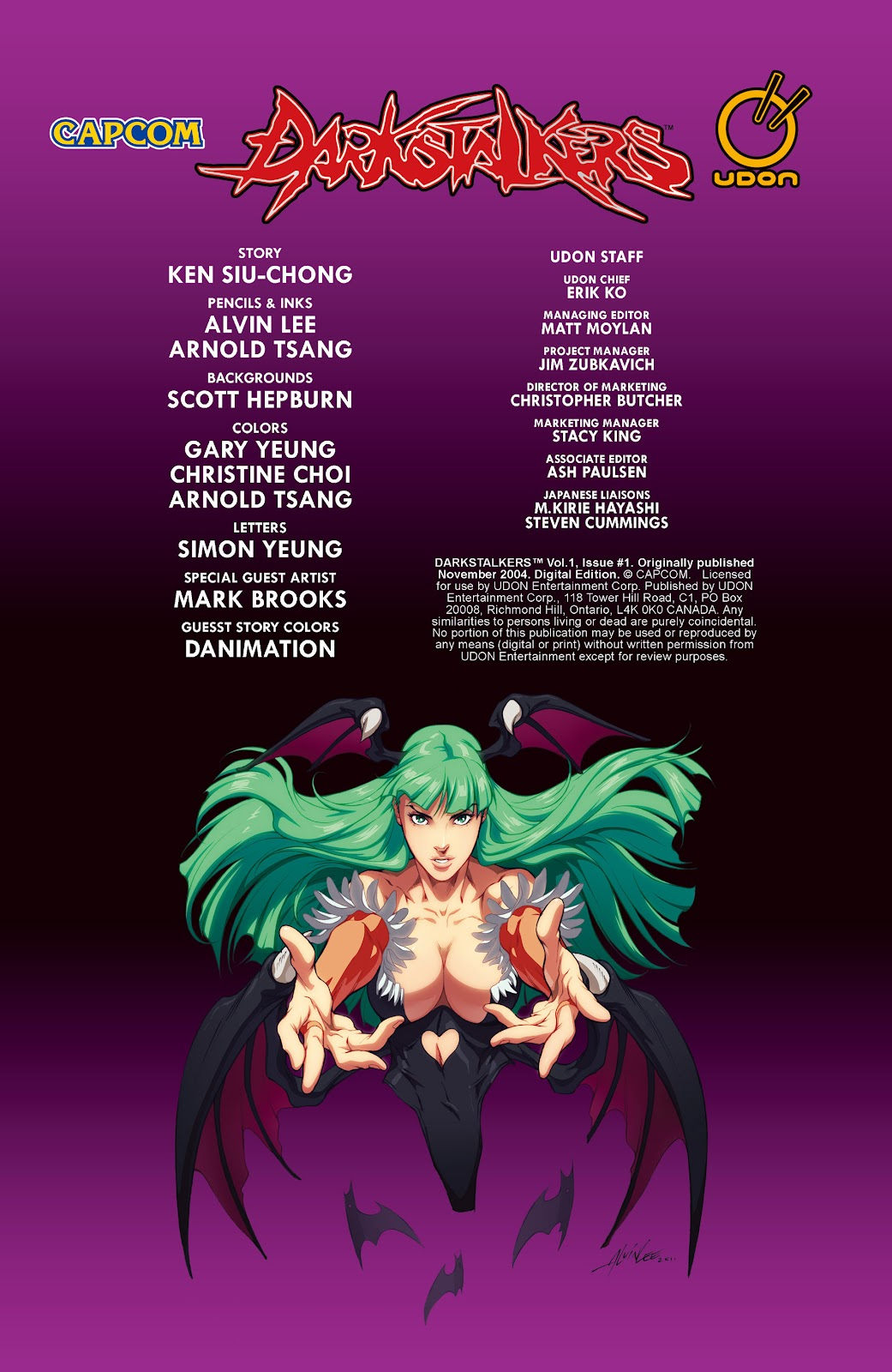 Darkstalkers Issue #1 #2 - English 4