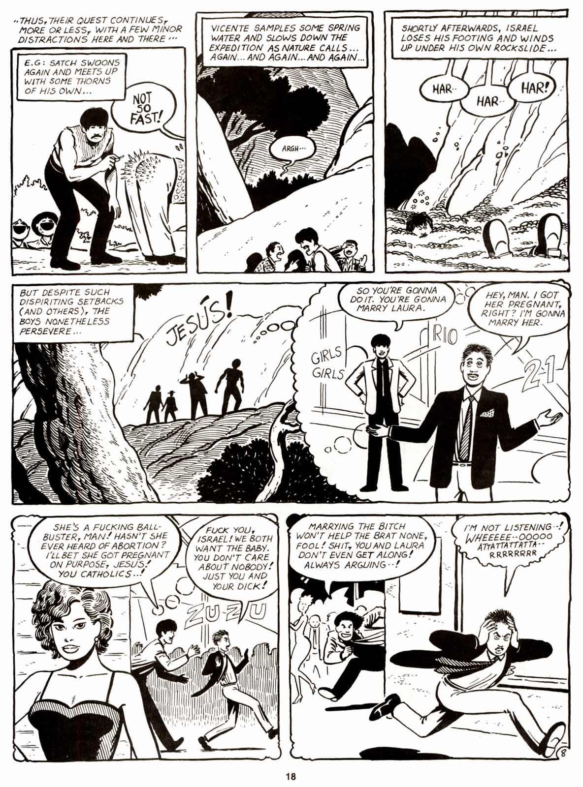 Love and Rockets (1982) Issue #9 #8 - English 20