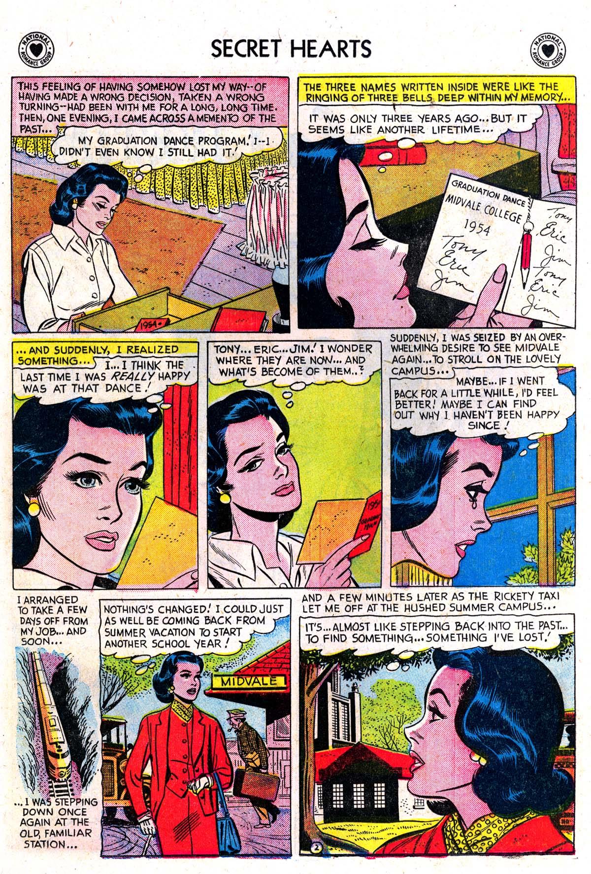 Read online Secret Hearts comic -  Issue #42 - 20
