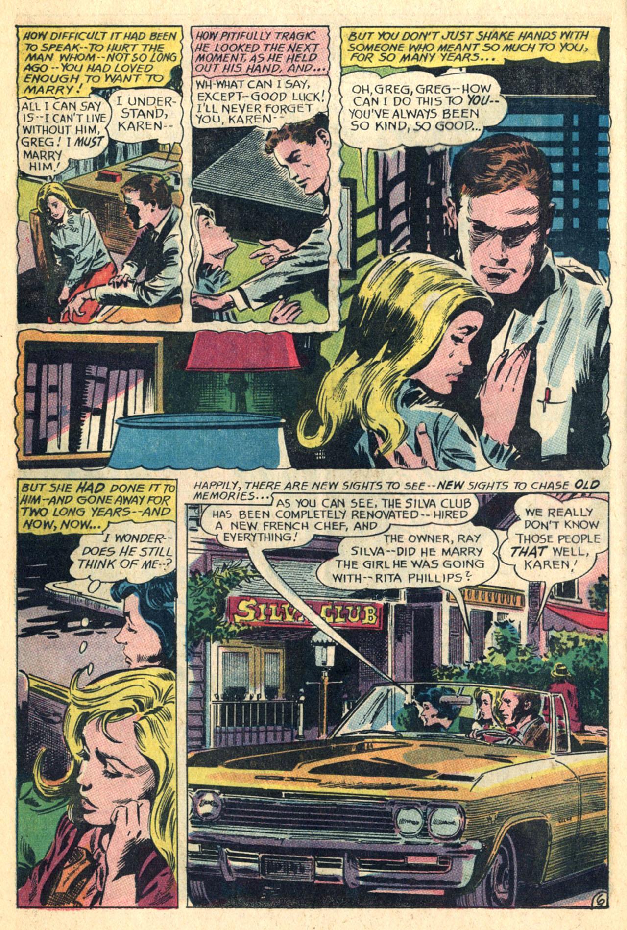 Read online Secret Hearts comic -  Issue #110 - 24