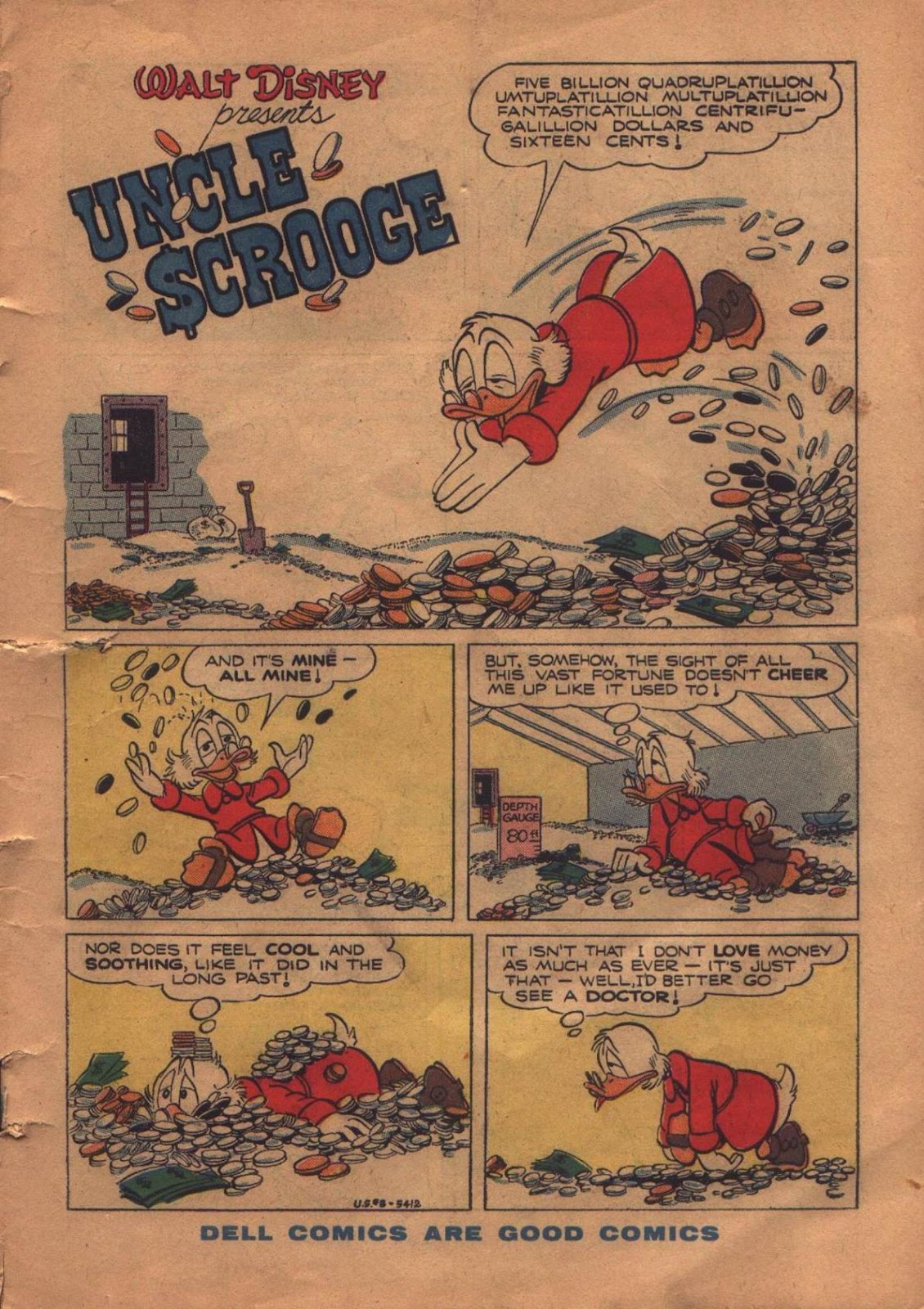 Uncle Scrooge (1953) Issue #8 #8 - English 3