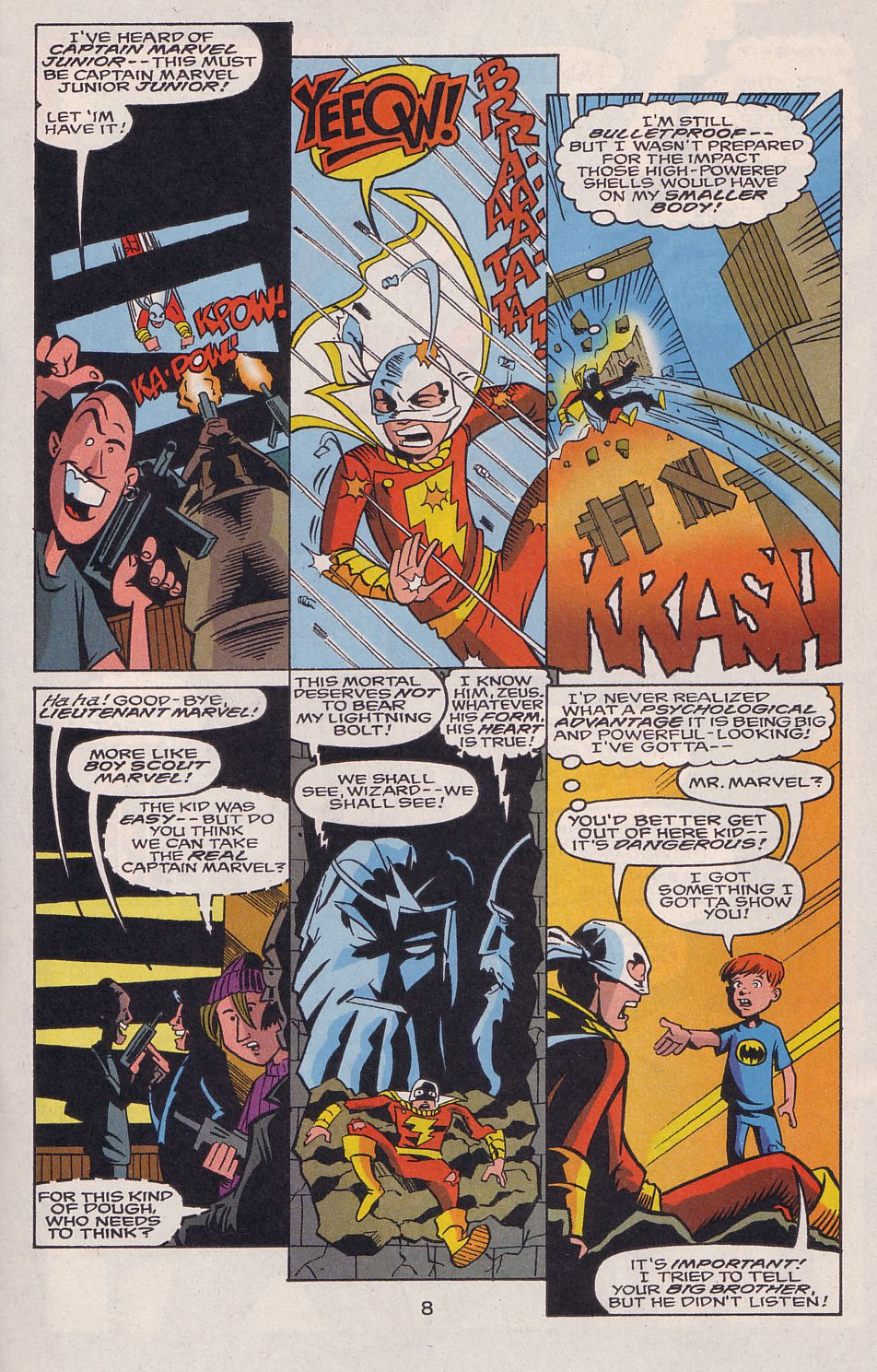 Read online Adventures in the DC Universe comic -  Issue #15 - 9