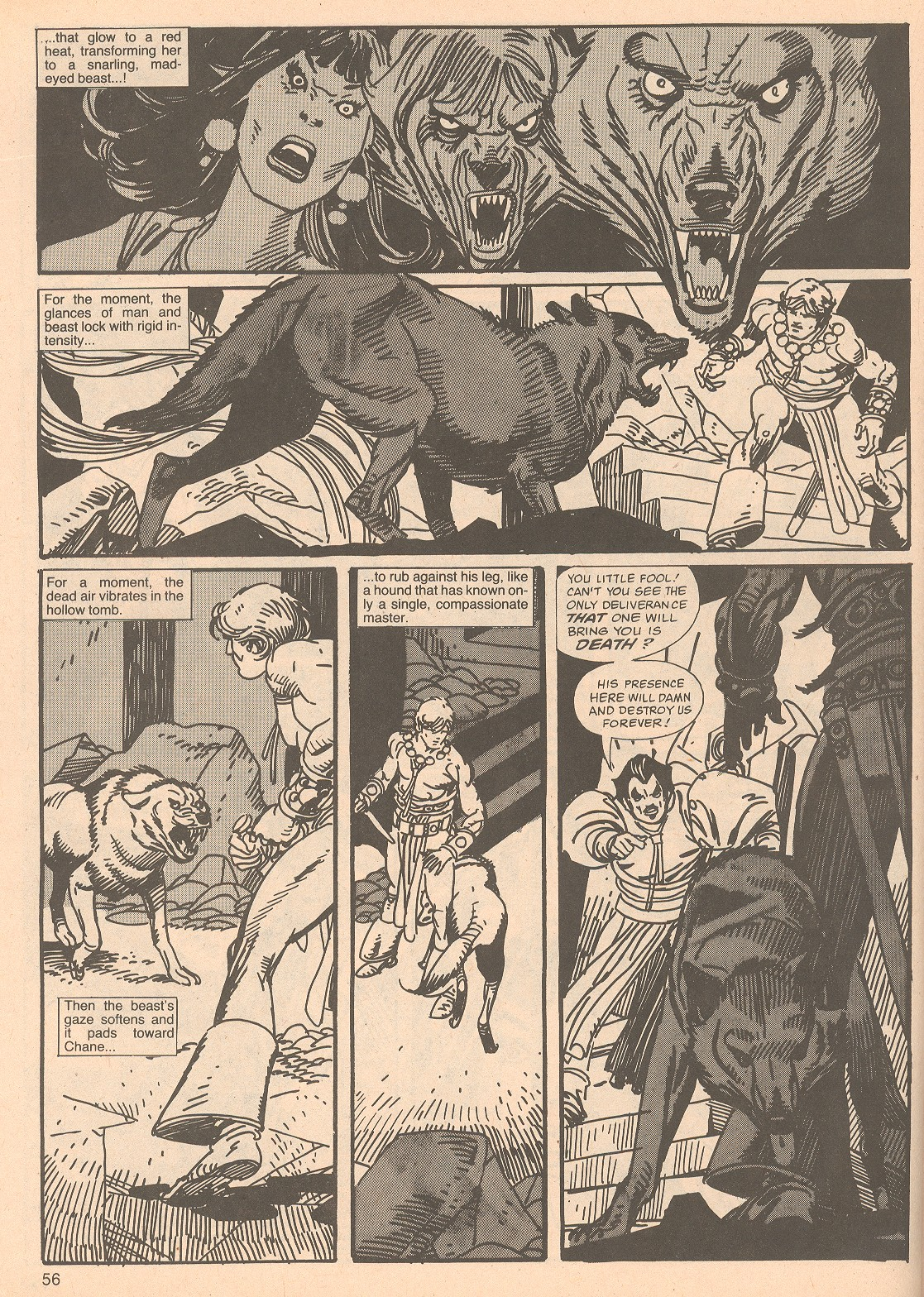 The Savage Sword Of Conan Issue #67 #68 - English 56