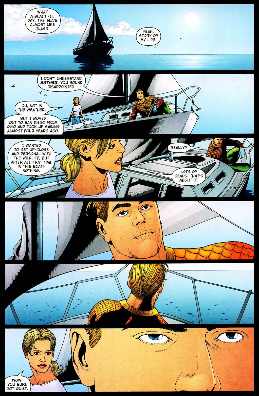 Aquaman (2003) Issue #33 #33 - English 2