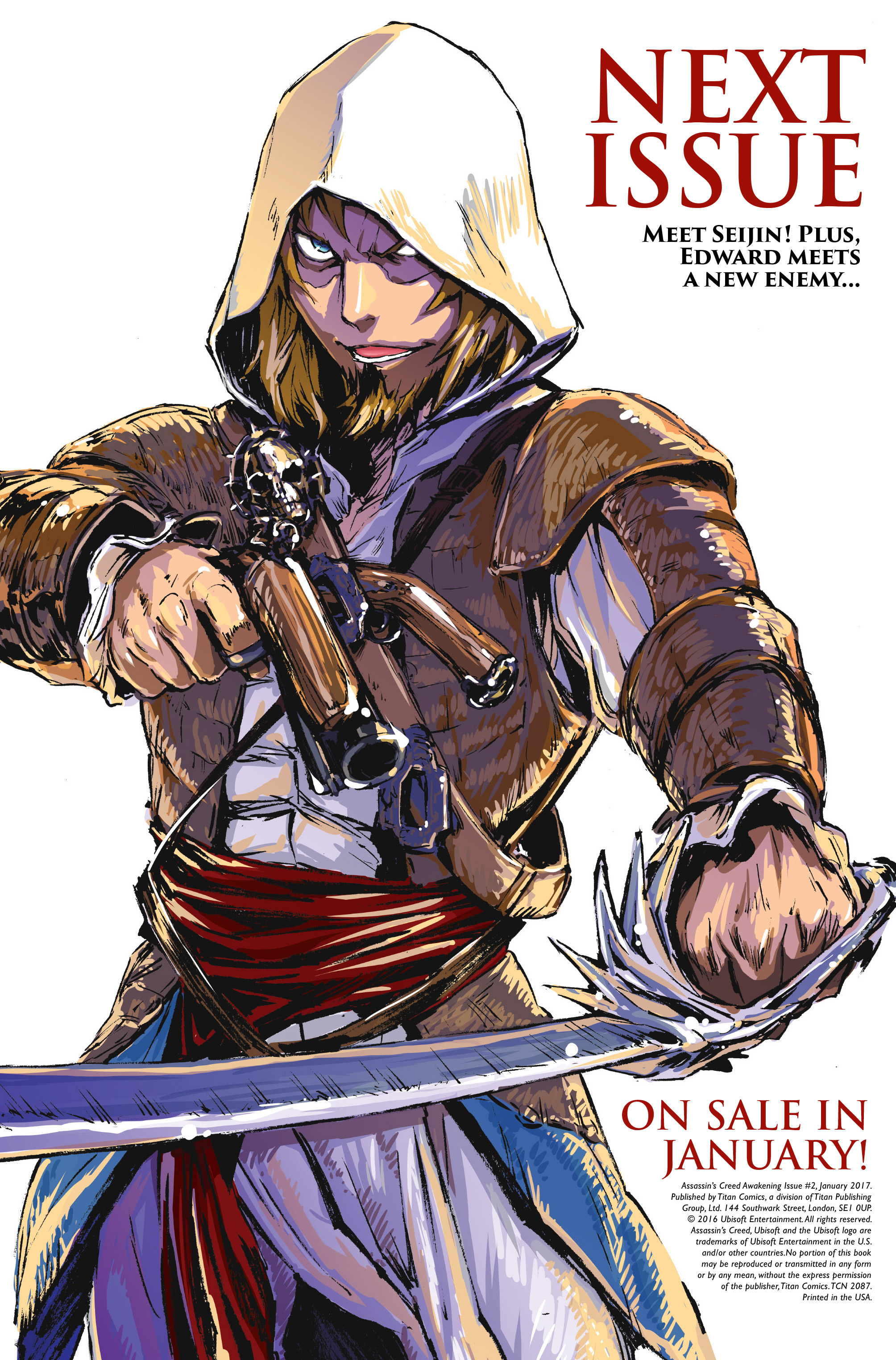 Read online Assassin's Creed: Awakening comic -  Issue #2 - 29