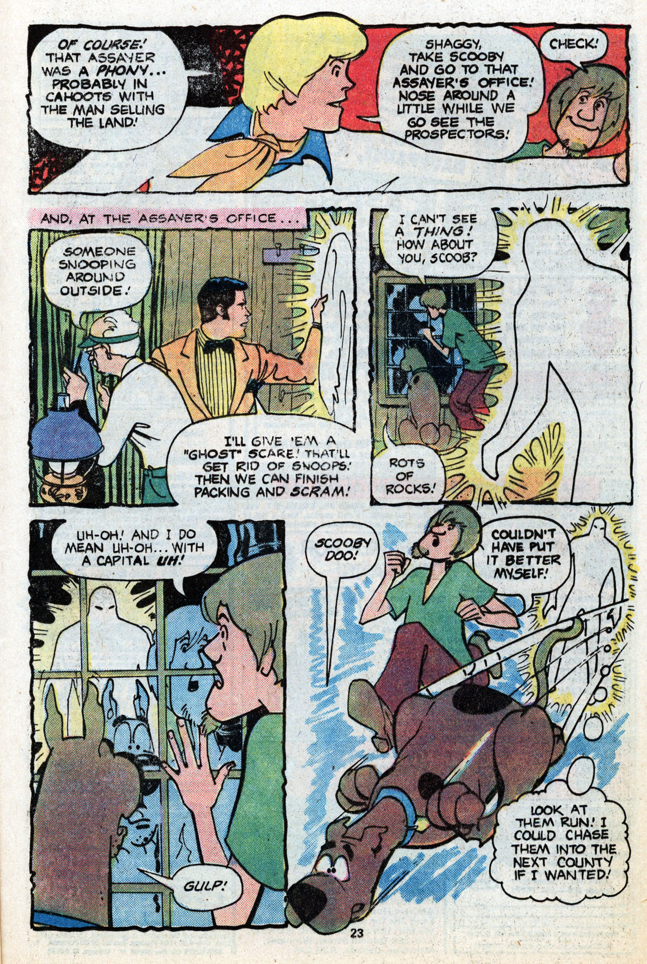 Read online Scooby-Doo (1977) comic -  Issue #6 - 24