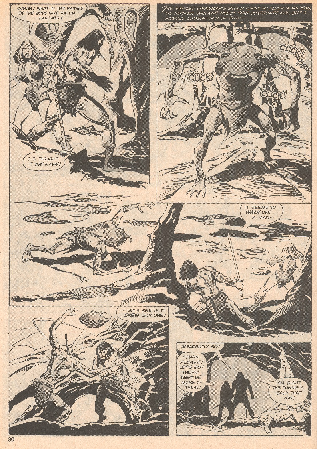 The Savage Sword Of Conan Issue #70 #71 - English 30