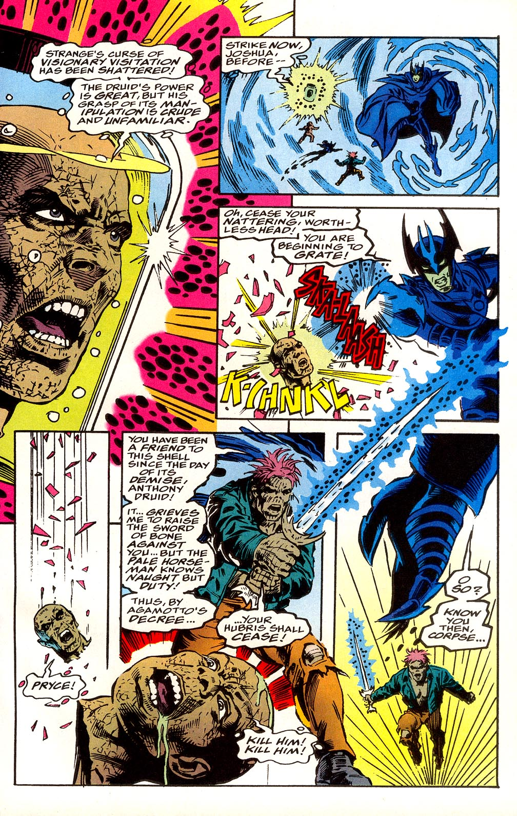 Read online Secret Defenders comic -  Issue #25 - 20