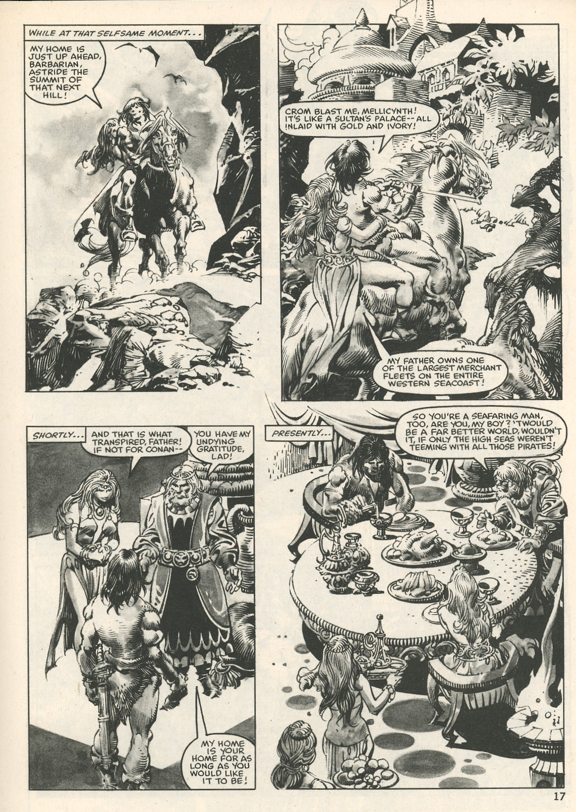 The Savage Sword Of Conan Issue #107 #108 - English 17
