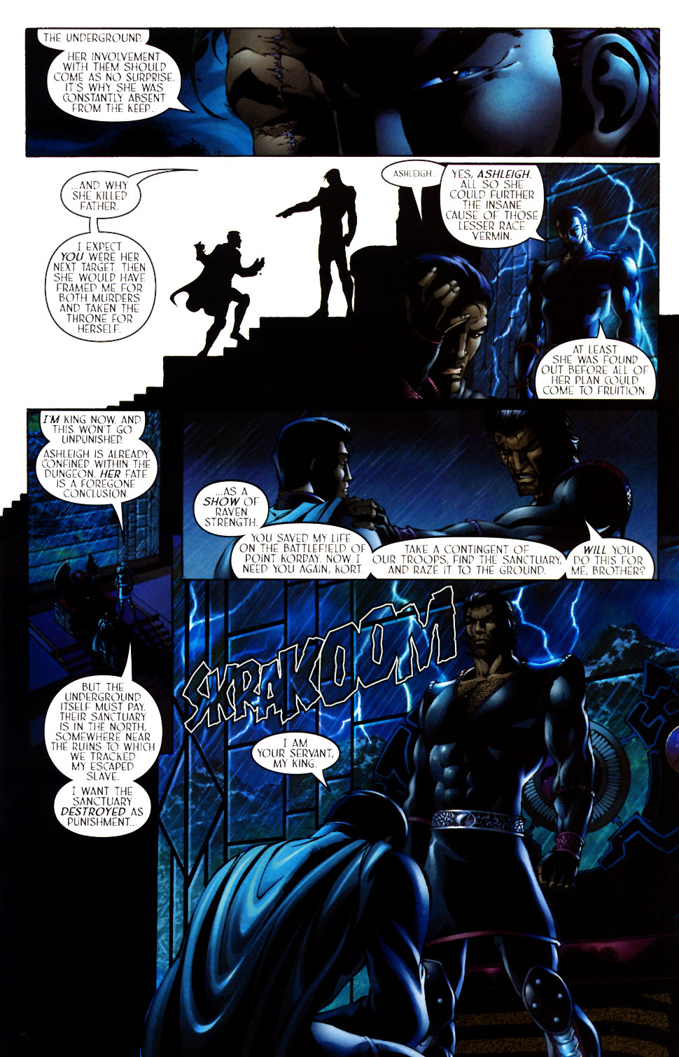 Read online Scion comic -  Issue #12 - 21