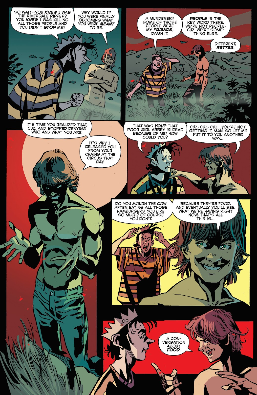 Jughead The Hunger Issue #3 #4 - English 7