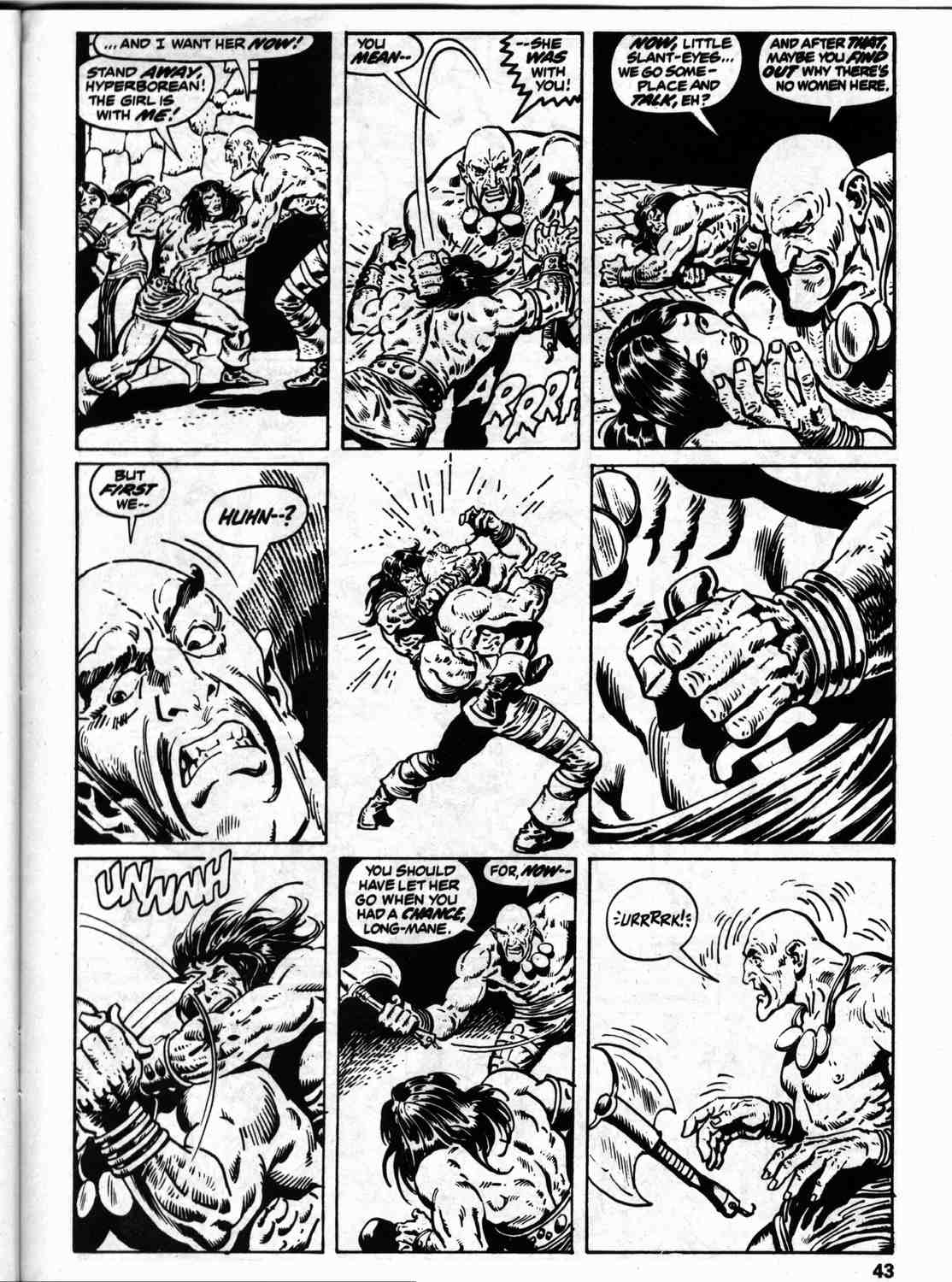 The Savage Sword Of Conan Issue #59 #60 - English 50