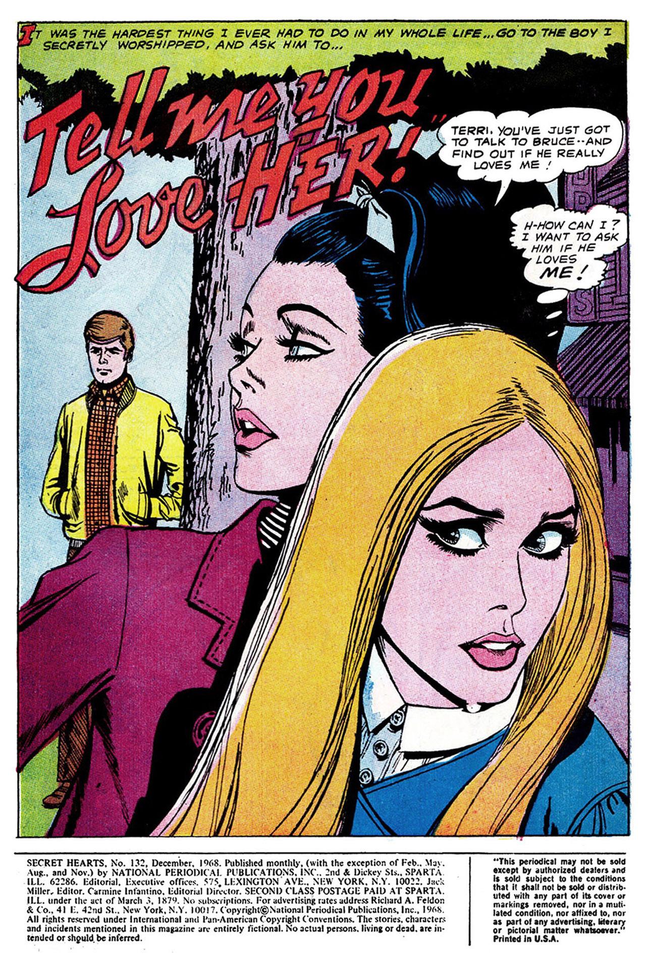 Read online Secret Hearts comic -  Issue #132 - 3